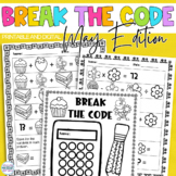 Break the Code | May