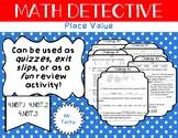 Math Detective: Place Value