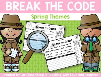 Break the Code - Spring Themes
