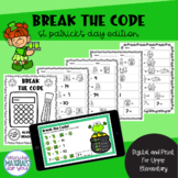 Break the Code | St Patricks