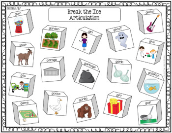 Break the Ice: An Articulation Activity