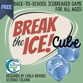 Break the Ice CUBE Game: Back-to-School Icebreaker