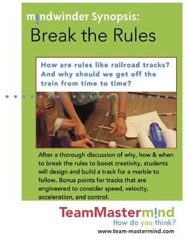 Break the Rules ~ A lesson on when & why we should break some rules sometimes!
