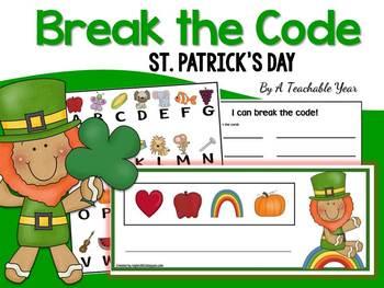 Break the Code- St Patrick's Day