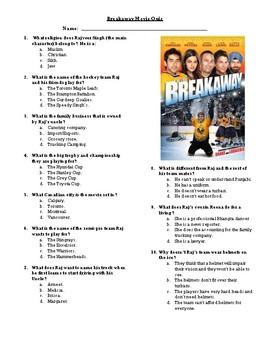 Breakaway Movie Quiz