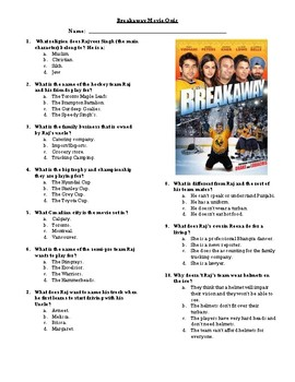 Breakaway Movie Quiz