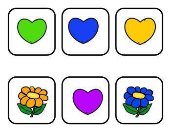 Hearts and Flowers BINGO--Happy Valentine's Day