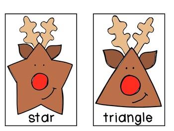Breakfast Box: Christmas {Reindeer Shapes}
