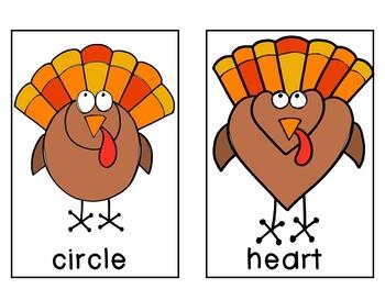 Breakfast Box: Turkeys {Shapes}