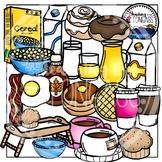 Breakfast Clipart Bundle