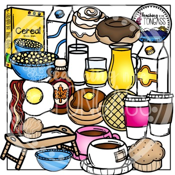 Breakfast Clipart Bundle