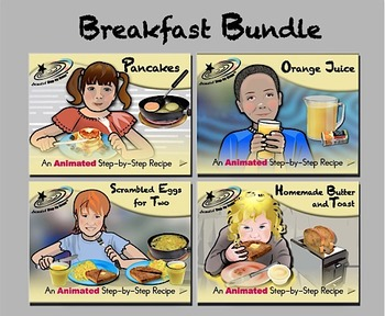 Breakfast Bundle - Animated Step-by-Step Recipes