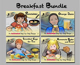 Breakfast Recipes Bundle - Animated Step-by-Steps® - Regular