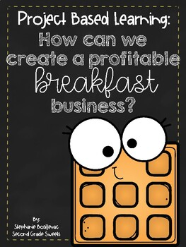 Breakfast Business Project Based Learning-Add, Multiply & Divide Fractions