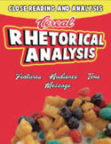 Breakfast Cereal Rhetorical Analysis - AP Lang, SAT Essay Prep, Rhetoric Intro