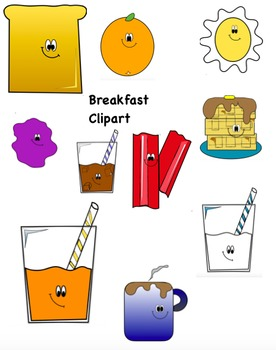 Breakfast Clip Art