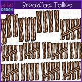 Breakfast Clip Art - Breakfast Bacon Tally Marks {jen hart