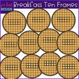 Breakfast Clip Art - Breakfast Waffle Ten Frames {jen hart