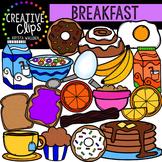 Breakfast {Creative Clips Digital Clipart}