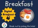 Breakfast - Digital Breakout! (Escape Room, Distance Learn