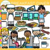 Breakfast Diner Clip Art