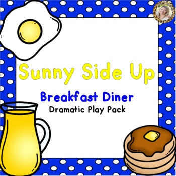 Breakfast Diner Dramatic Play Pack