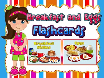 Breakfast Dishes and Eggs Flashcards (Role-play situation in a Restaurant)