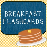 Breakfast Flashcards