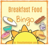 Breakfast Food Bingo