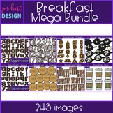Breakfast Food Clip Art - Breakfast Mega BUNDLE {jen hart Clip Art}