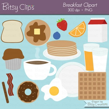 Breakfast Food Clipart Commercial Use Clip Art
