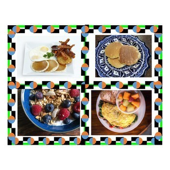 Breakfast Food Photo Images  - Imágenes del desayuno