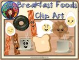 Clip Art - Breakfast Foods