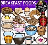 Breakfast Foods Clip Art Bundle {Educlips Clipart}