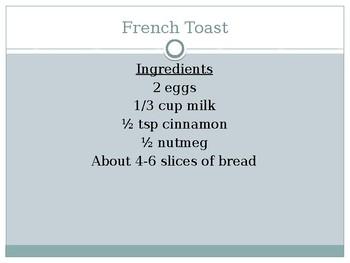 Breakfast Foods PowerPoint