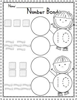 Breakfast Number Bonds by Kinder League