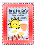 "Breakfast Restaurant ""Sunshine Cafe"" Dramatic Play Set"