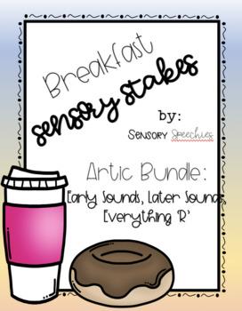 Breakfast Sensory Stakes: Artic Bundle