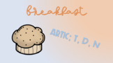 Breakfast Sensory Stakes: T, D, N