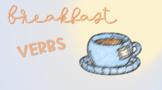 Breakfast Sensory Stakes: Verbs