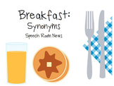 Breakfast Synonyms
