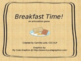 Breakfast Time: An Articulation Game