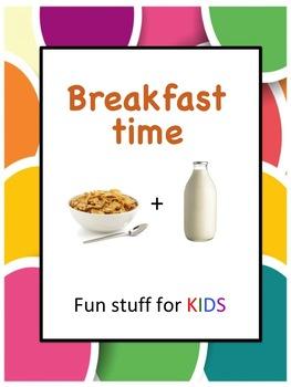 Breakfast Time (DadaAbc Homework Worksheets)