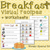 Breakfast Visual Recipes for Special Education