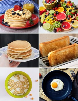Breakfast Vocabulary Picture Cards
