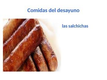 Breakfast foods in Spanish