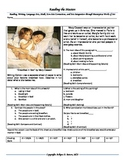 """Intervention & Test Prep with """"Breakfast in Bed"""" by Mary Cassatt"""