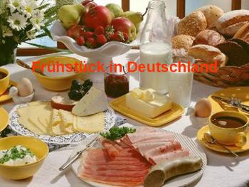 Breakfast in Germany / Food and Drink / Essen und Trinken