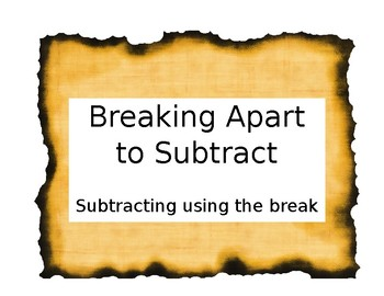 Breaking Apart to Subtract (With Regrouping)