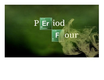 """""""Breaking Bad"""" Style Period Titles"""